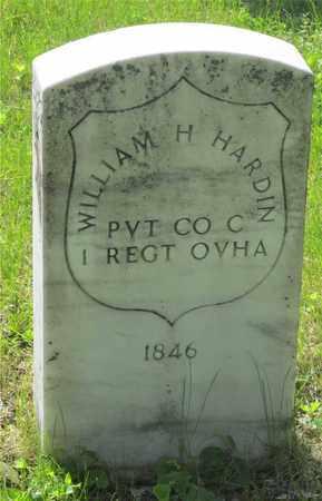 HARDIN, WILLIAM H. - Franklin County, Ohio | WILLIAM H. HARDIN - Ohio Gravestone Photos