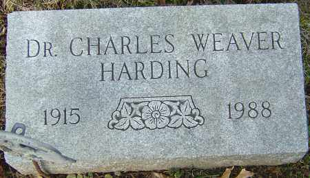 HARDING, CHARLES WEAVER - Franklin County, Ohio | CHARLES WEAVER HARDING - Ohio Gravestone Photos