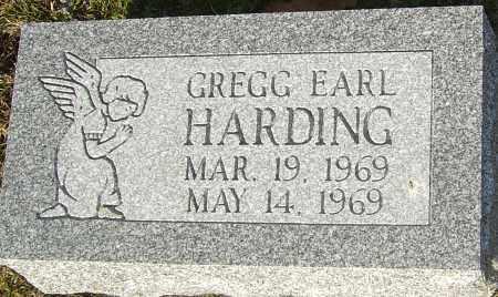HARDING, GREGG EARL - Franklin County, Ohio | GREGG EARL HARDING - Ohio Gravestone Photos
