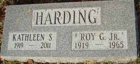 HARDING, ROY G - Franklin County, Ohio | ROY G HARDING - Ohio Gravestone Photos