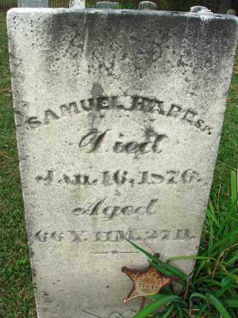 HARE, SAMUEL - Franklin County, Ohio | SAMUEL HARE - Ohio Gravestone Photos