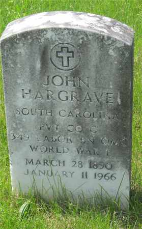 HARGRAVE, JOHN - Franklin County, Ohio | JOHN HARGRAVE - Ohio Gravestone Photos