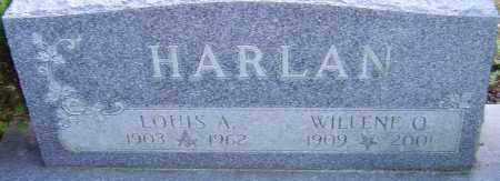 HARLAN, LOUIS - Franklin County, Ohio | LOUIS HARLAN - Ohio Gravestone Photos