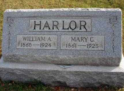 HARLOR, WILLIAM A. - Franklin County, Ohio | WILLIAM A. HARLOR - Ohio Gravestone Photos