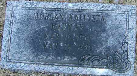 HARMAN, MORGAN KALLYSTA - Franklin County, Ohio | MORGAN KALLYSTA HARMAN - Ohio Gravestone Photos