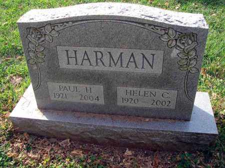HARMAN, PAUL H. - Franklin County, Ohio | PAUL H. HARMAN - Ohio Gravestone Photos