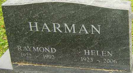 HARMAN, HELEN - Franklin County, Ohio | HELEN HARMAN - Ohio Gravestone Photos
