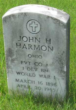 HARMON, JOHN H. - Franklin County, Ohio | JOHN H. HARMON - Ohio Gravestone Photos