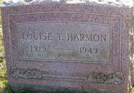 HARMON, LOUISE - Franklin County, Ohio | LOUISE HARMON - Ohio Gravestone Photos