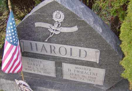 HAROLD, HARRY - Franklin County, Ohio | HARRY HAROLD - Ohio Gravestone Photos