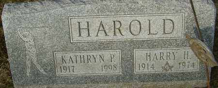 HAROLD, HARRY H - Franklin County, Ohio | HARRY H HAROLD - Ohio Gravestone Photos