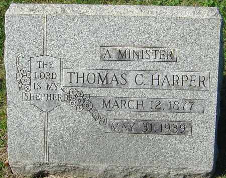 HARPER, THOMAS C - Franklin County, Ohio | THOMAS C HARPER - Ohio Gravestone Photos