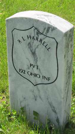 HARRELL, R.L. - Franklin County, Ohio | R.L. HARRELL - Ohio Gravestone Photos
