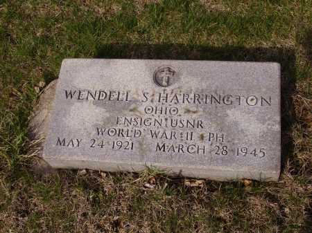 HARRINGTON, WENDELL S. - MILITARY - Franklin County, Ohio | WENDELL S. - MILITARY HARRINGTON - Ohio Gravestone Photos