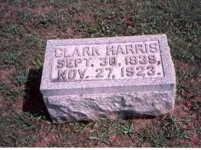 HARRIS, CLARK - Franklin County, Ohio   CLARK HARRIS - Ohio Gravestone Photos
