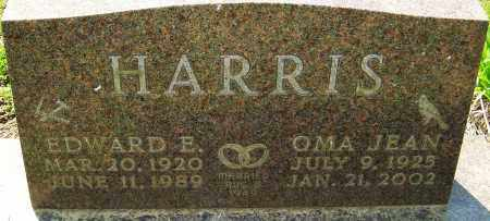 HARRIS, EDWARD E - Franklin County, Ohio | EDWARD E HARRIS - Ohio Gravestone Photos