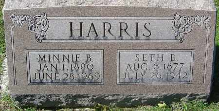 HARRIS, MINNIE B - Franklin County, Ohio | MINNIE B HARRIS - Ohio Gravestone Photos