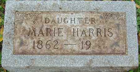 HARRIS, MARIE - Franklin County, Ohio | MARIE HARRIS - Ohio Gravestone Photos