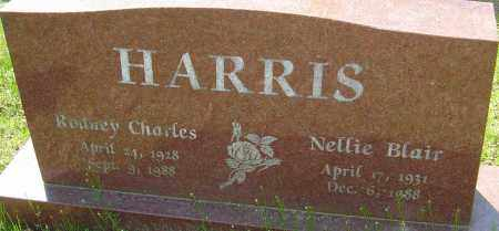 BLAIR HARRIS, NELLIE - Franklin County, Ohio | NELLIE BLAIR HARRIS - Ohio Gravestone Photos