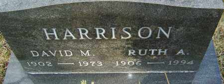 HARRISON, DAVID M - Franklin County, Ohio | DAVID M HARRISON - Ohio Gravestone Photos