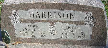 HARRISON, GRACE E - Franklin County, Ohio | GRACE E HARRISON - Ohio Gravestone Photos