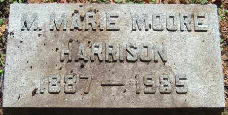PINGREE HARRISON, M MARIE MOORE - Franklin County, Ohio | M MARIE MOORE PINGREE HARRISON - Ohio Gravestone Photos