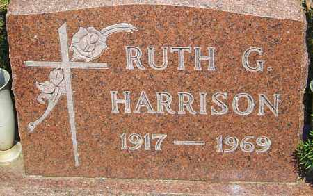 HARRISON, RUTH G - Franklin County, Ohio | RUTH G HARRISON - Ohio Gravestone Photos