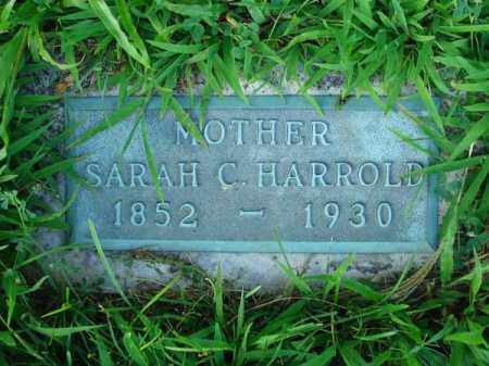 HARROLD, SARAH C. - Franklin County, Ohio | SARAH C. HARROLD - Ohio Gravestone Photos