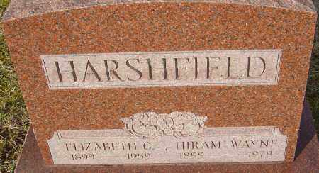 HARSHFIELD, ELIZABETH C - Franklin County, Ohio | ELIZABETH C HARSHFIELD - Ohio Gravestone Photos