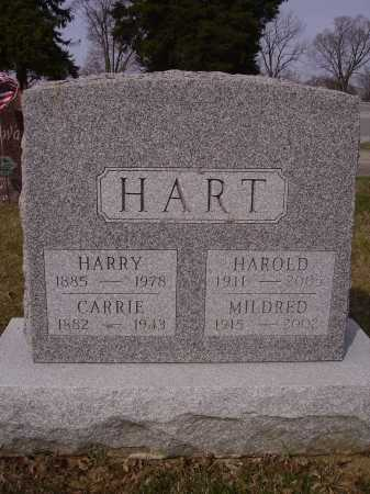 HART, HAROLD - Franklin County, Ohio | HAROLD HART - Ohio Gravestone Photos