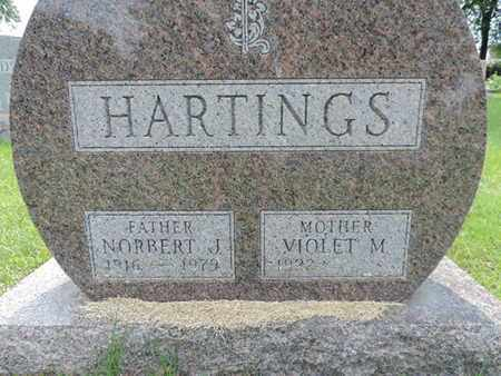 HARTINGS, NORBERT J. - Franklin County, Ohio | NORBERT J. HARTINGS - Ohio Gravestone Photos