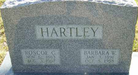HARTLEY, ROSCOE - Franklin County, Ohio | ROSCOE HARTLEY - Ohio Gravestone Photos