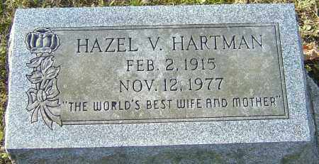 HARTMAN, HAZEL V - Franklin County, Ohio | HAZEL V HARTMAN - Ohio Gravestone Photos