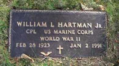 HARTMAN, WILLIAM L. - Franklin County, Ohio | WILLIAM L. HARTMAN - Ohio Gravestone Photos
