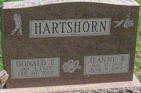 HARTSHORN, DONALD E - Franklin County, Ohio | DONALD E HARTSHORN - Ohio Gravestone Photos