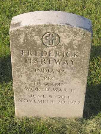 HARTWAY, FREDERICK - Franklin County, Ohio | FREDERICK HARTWAY - Ohio Gravestone Photos