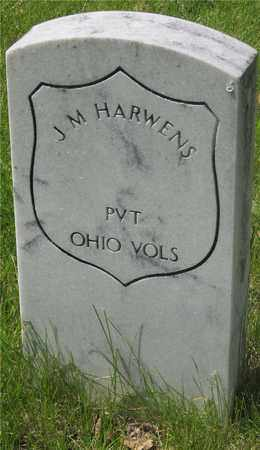 HARWENS, J. M. - Franklin County, Ohio | J. M. HARWENS - Ohio Gravestone Photos