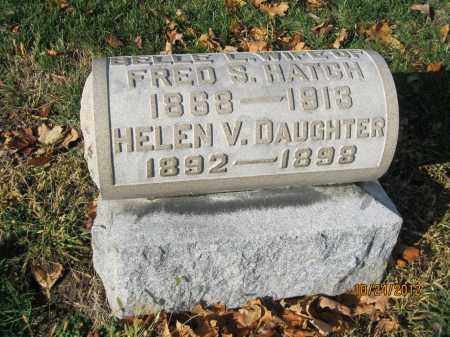 HATCH, HELEN V - Franklin County, Ohio | HELEN V HATCH - Ohio Gravestone Photos