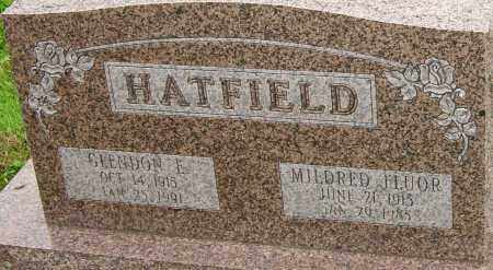 FLUOR HATFIELD, MILDRED - Franklin County, Ohio | MILDRED FLUOR HATFIELD - Ohio Gravestone Photos