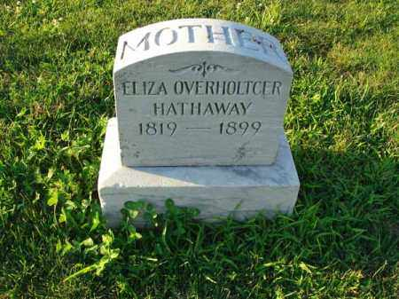 HATHAWAY, ELIZA - Franklin County, Ohio | ELIZA HATHAWAY - Ohio Gravestone Photos