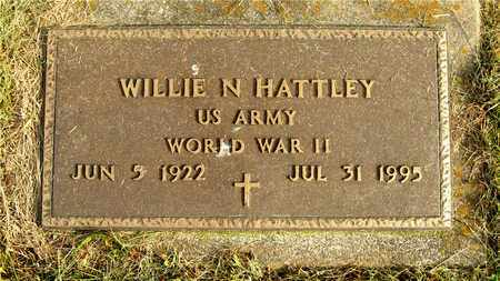 HATTLEY, WILLIE N. - Franklin County, Ohio | WILLIE N. HATTLEY - Ohio Gravestone Photos