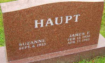 HAUPT, JAMES - Franklin County, Ohio | JAMES HAUPT - Ohio Gravestone Photos