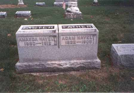 HAVELY, ADAM - Franklin County, Ohio | ADAM HAVELY - Ohio Gravestone Photos