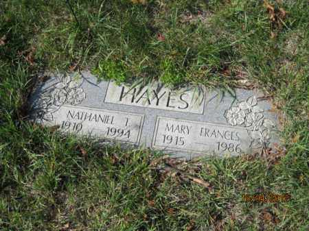 HAYES, NATHANIEL THOMAS SR. - Franklin County, Ohio | NATHANIEL THOMAS SR. HAYES - Ohio Gravestone Photos