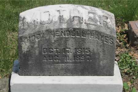 HAYES, RHODA - Franklin County, Ohio | RHODA HAYES - Ohio Gravestone Photos