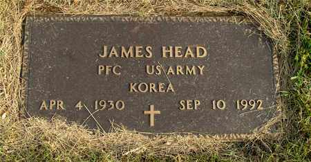 HEAD, JAMES - Franklin County, Ohio | JAMES HEAD - Ohio Gravestone Photos