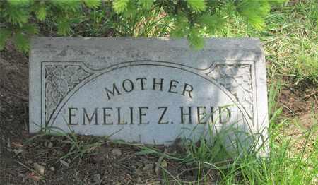 HEID, EMELIE A. - Franklin County, Ohio | EMELIE A. HEID - Ohio Gravestone Photos