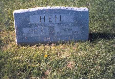 HEIL, ADAM - Franklin County, Ohio | ADAM HEIL - Ohio Gravestone Photos