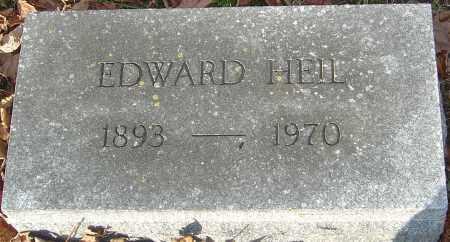 HEIL, EDWARD - Franklin County, Ohio | EDWARD HEIL - Ohio Gravestone Photos