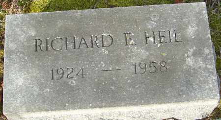 HEIL, RICHARD E - Franklin County, Ohio | RICHARD E HEIL - Ohio Gravestone Photos